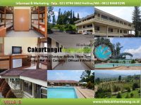 Fasilitas Hotel dan Kolam Renang Villa Bukit Hambalang