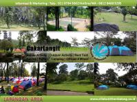 Fasilitas Lapangan dan Kemping Area Villa Bukit Hambalang
