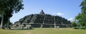 Borobudur-Nothwest-view