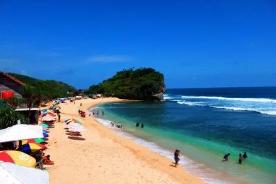 Keelokan Pantai Indrayanti