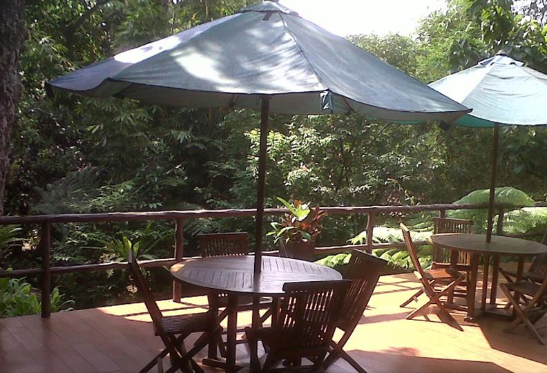 Ruang Santai Cico Resort Bogor Utara