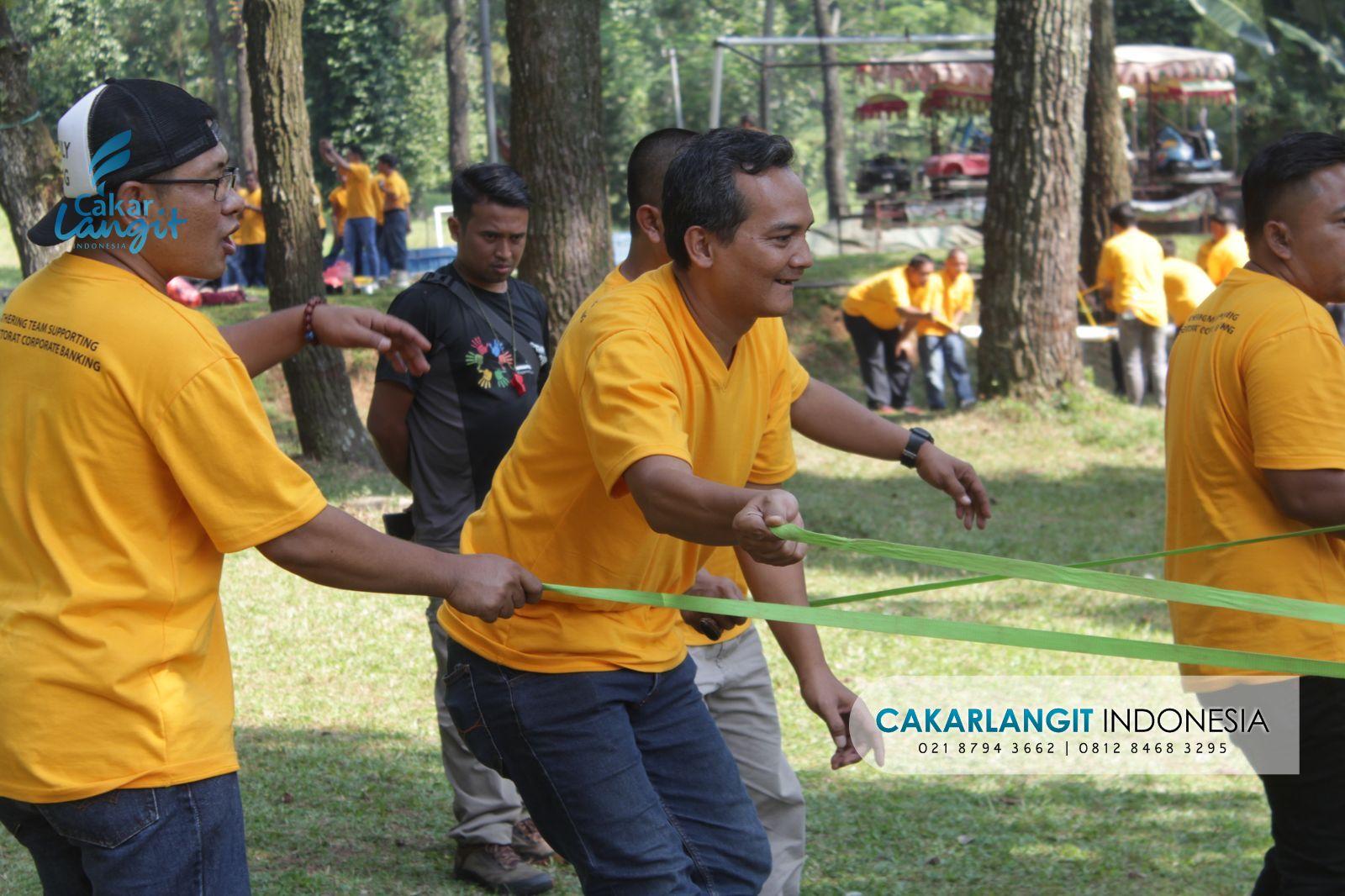 Gathering Team Supporting Bank Mandiri