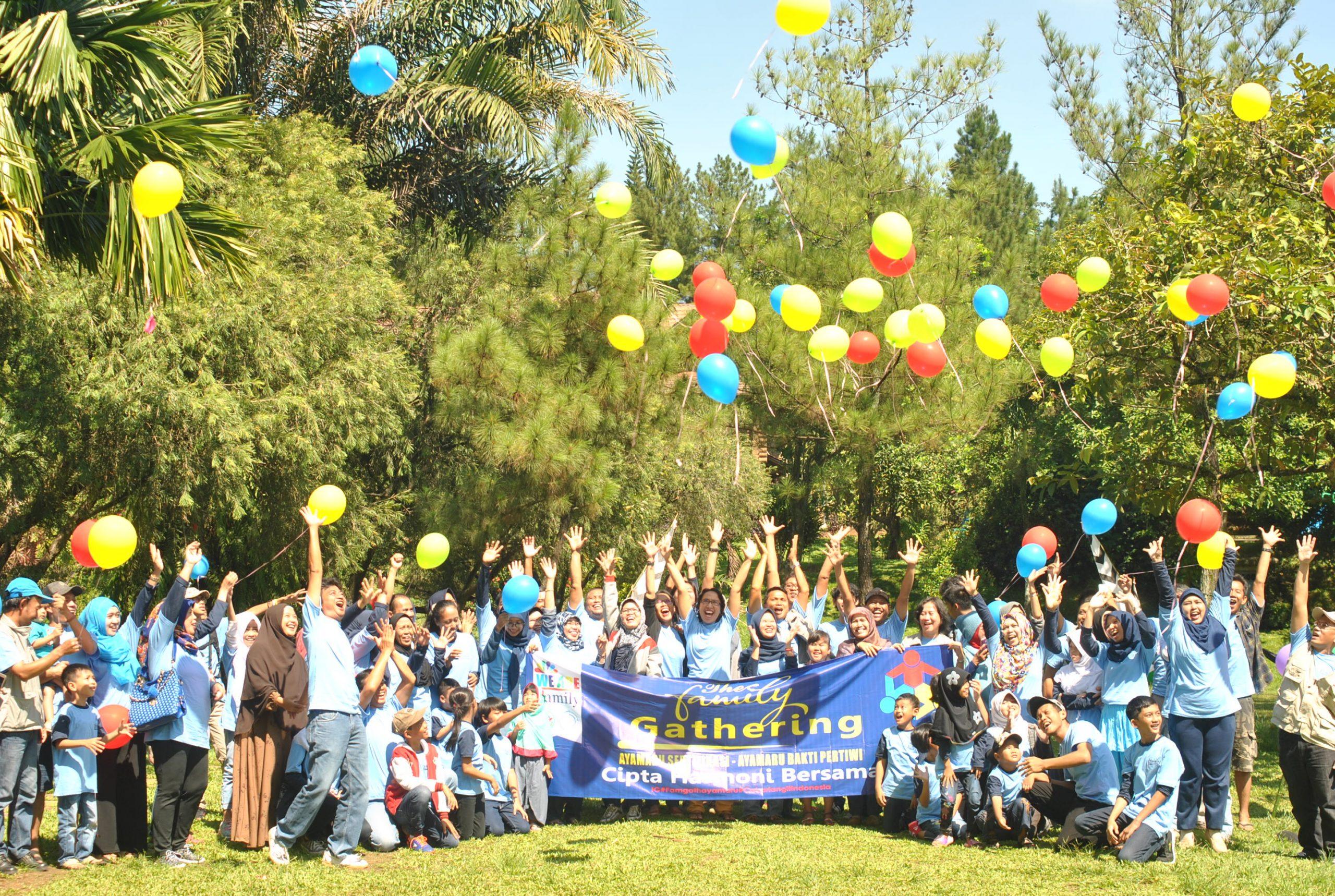 Family Gathering PT Ayamaru Sertifikasi & PT Ayamaru Bakti Pertiwi