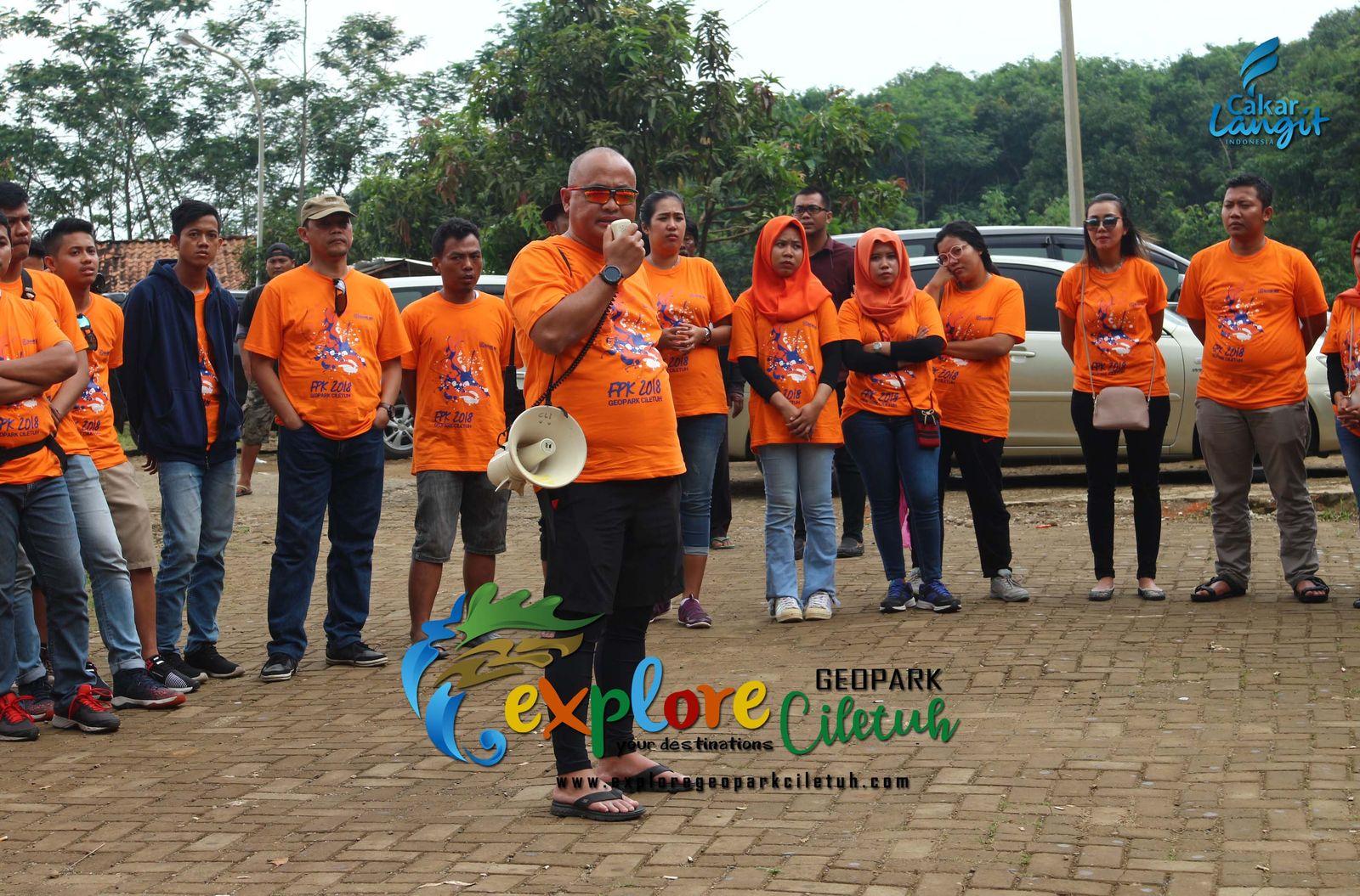 Gathering BANK BRI KAC Bandara Soeta - Geopark Ciletuh
