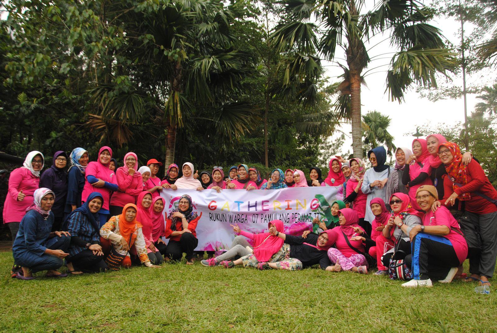 Gathering Ibu Ibu RW 07 Pamulang Permai