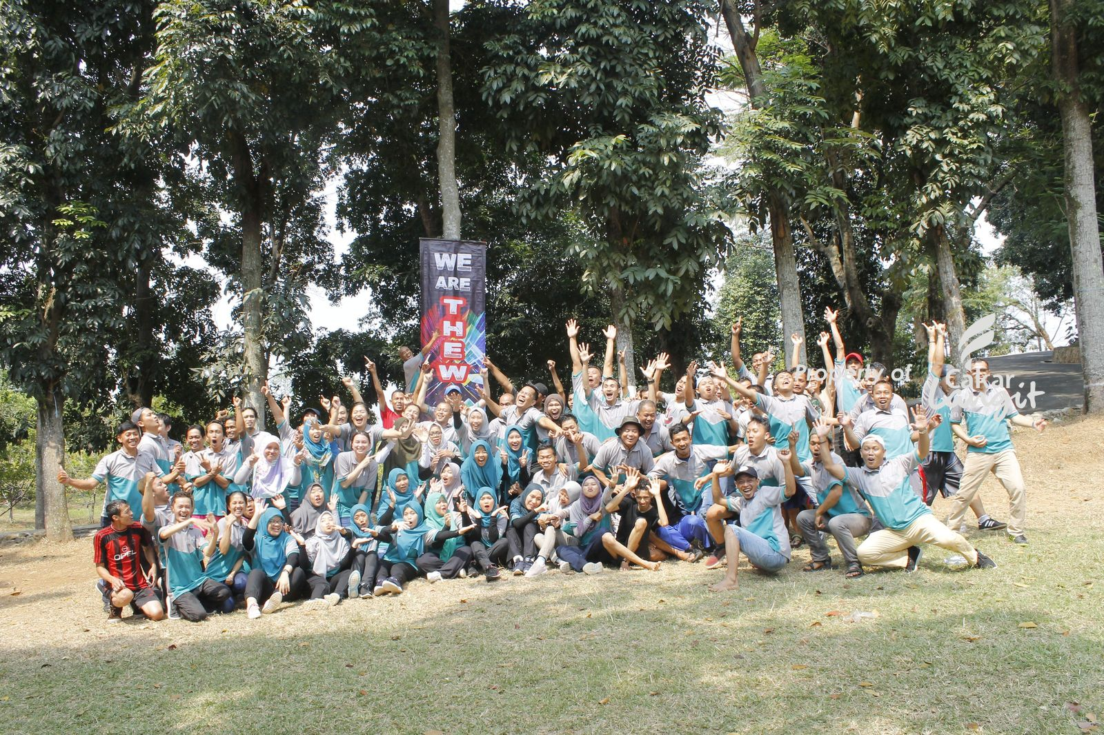 Outbound paling trend di Novotel Resort