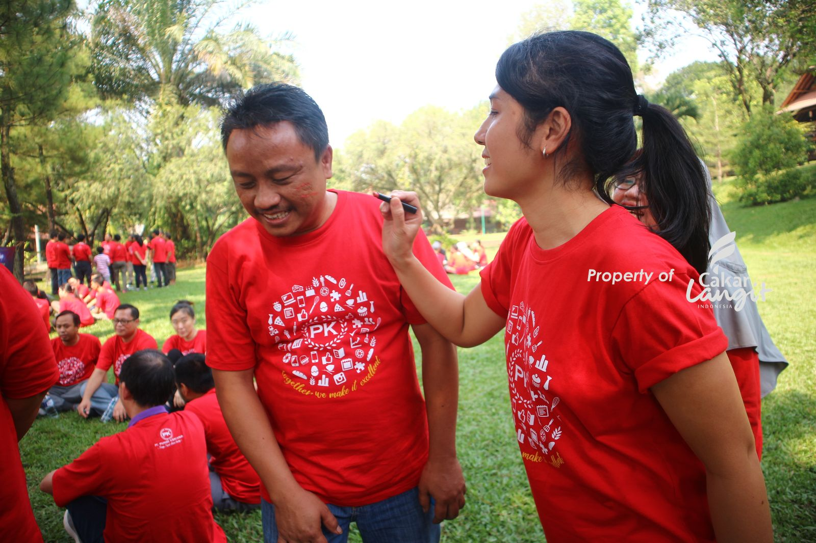 Outbound popular di Bogor Sentul The View Villa