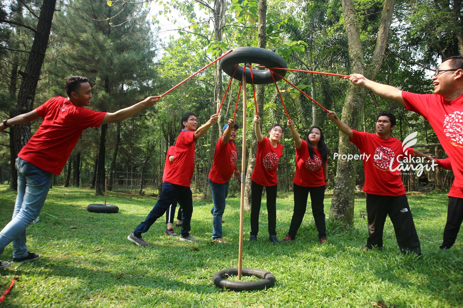 The Radiant Bamboo Village Venue untuk outbound paling bagus di Bogor
