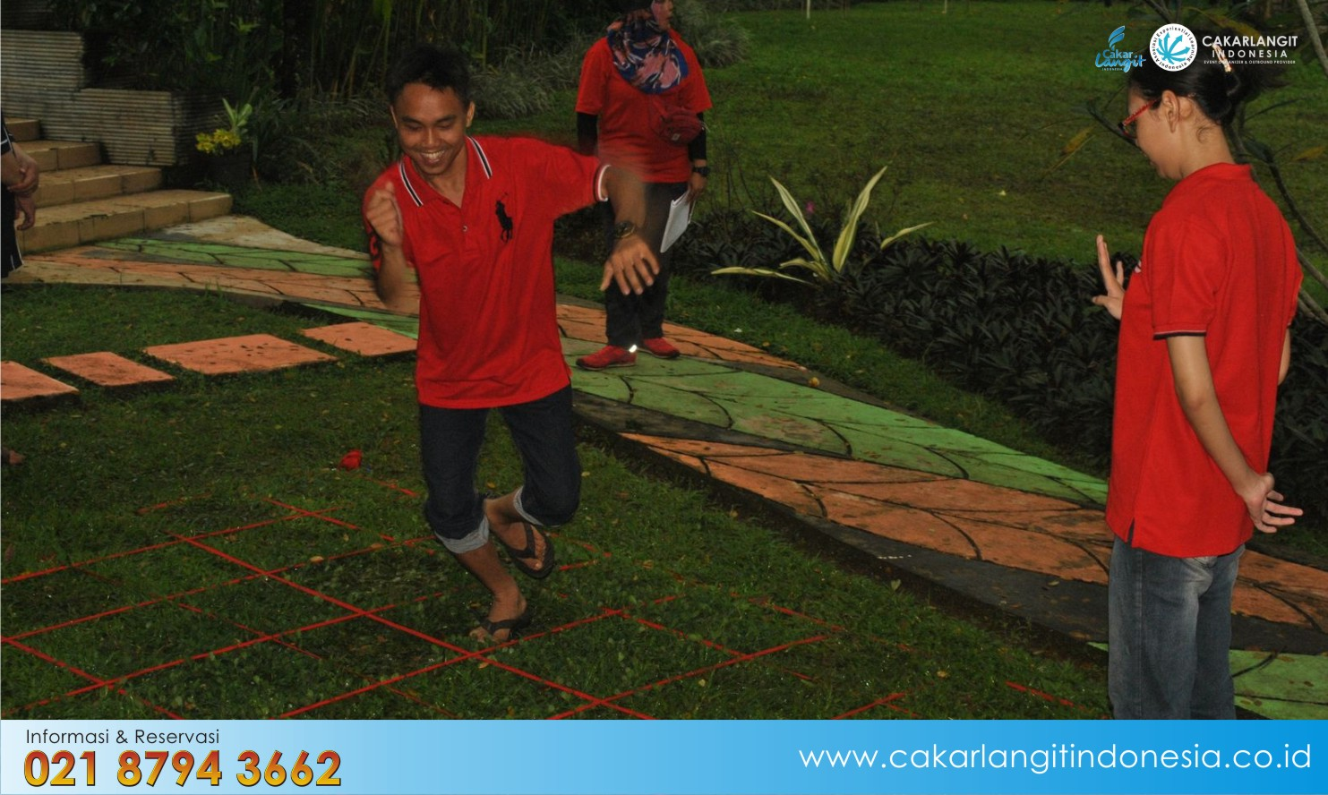 Promo Paket Outbound Training Villa Lemon Bandung