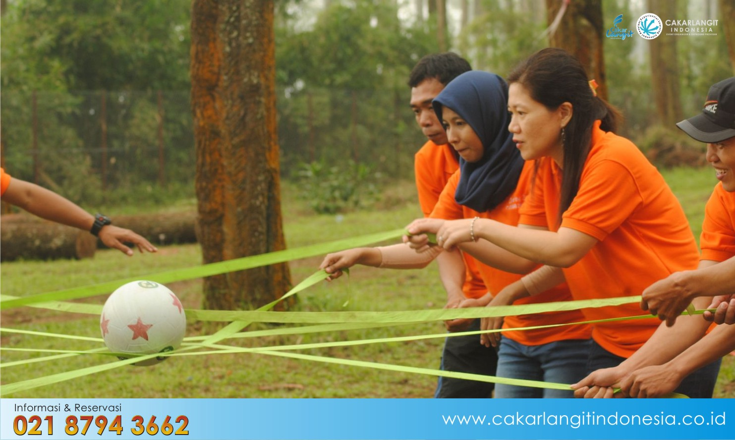 Paket Training di Bandung – Green Forest Resort