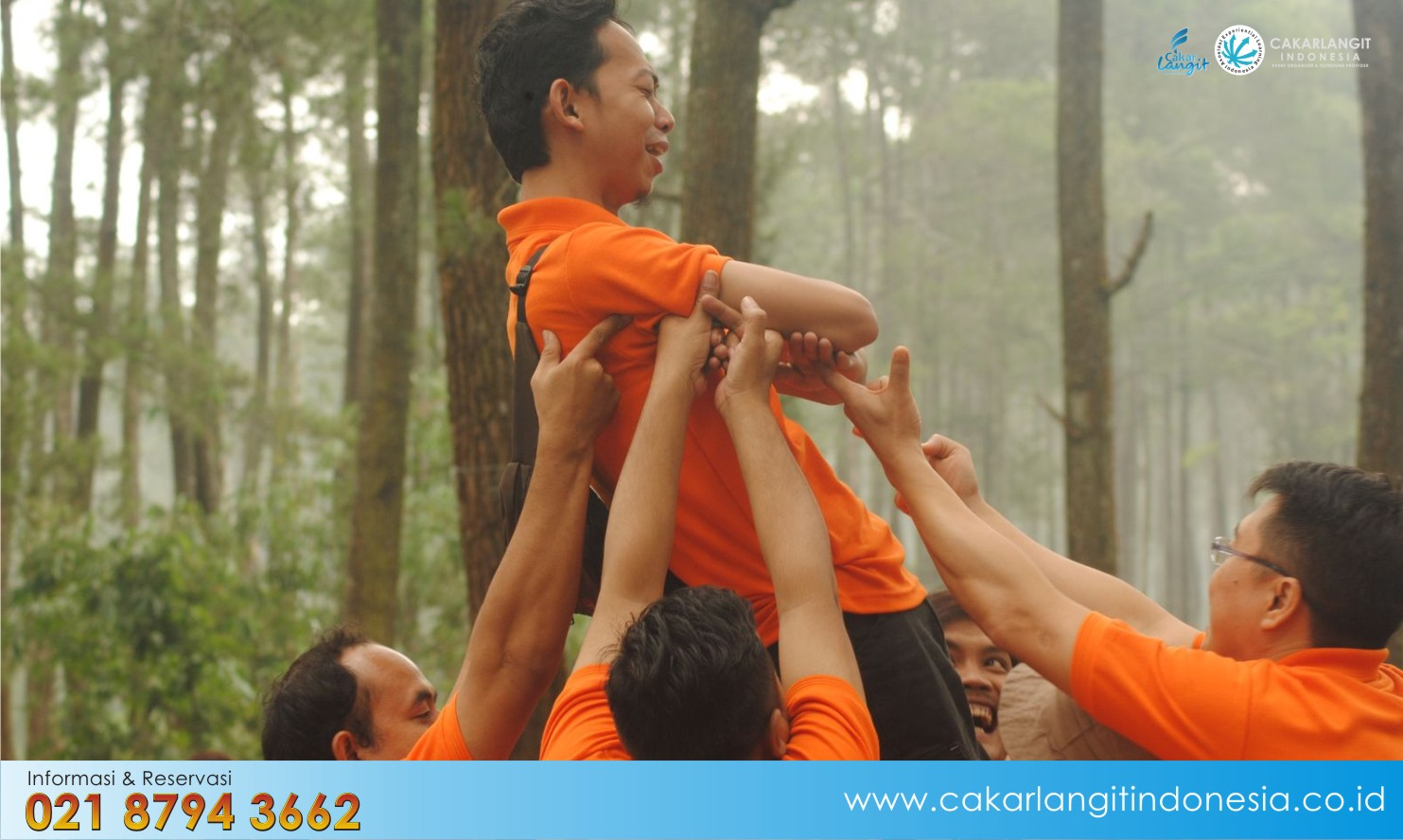 Lokasi Outbound Team Building di Bandung – Pal 16