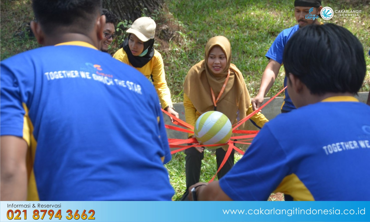 Avina Adventure Land Cocok Kegiatan Outbound Team Building