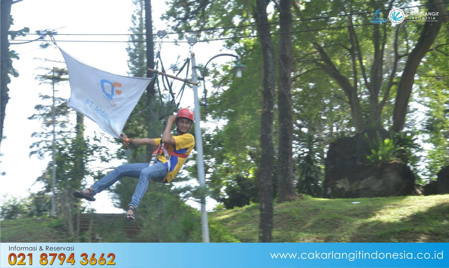 The Lodge Lembang Cocok Outbound Team Building