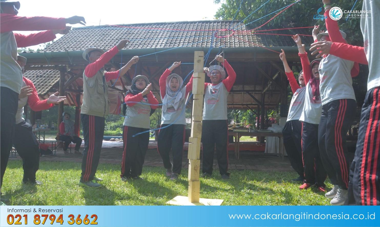 Lokasi untuk Outbound Pal 16 Bandung
