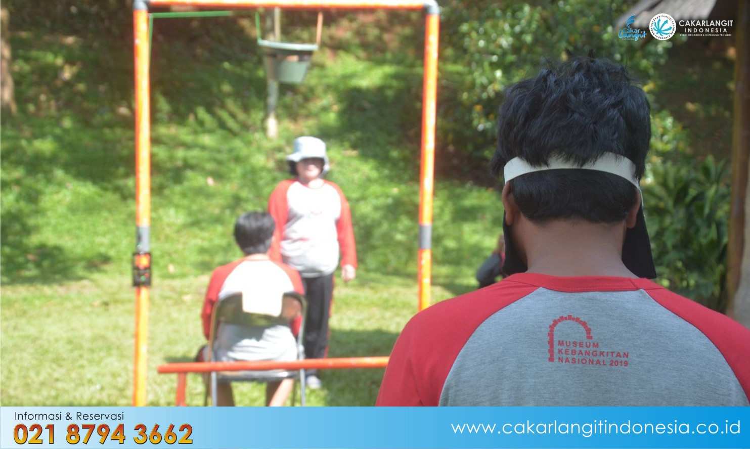 Orchid Forest Cikole direkomendasikan Outbound Capacity Building