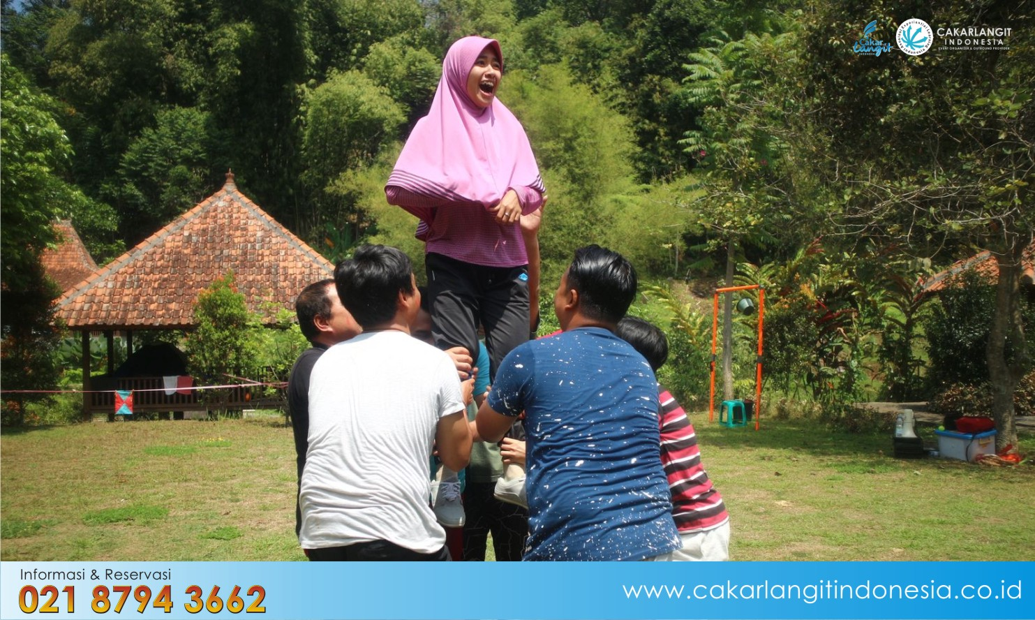 Lembang Jungle Discovery Cocok Outbound