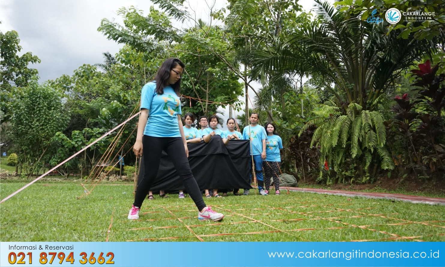 Harga Outbound Team Building di Bandung – Green Forest Resort