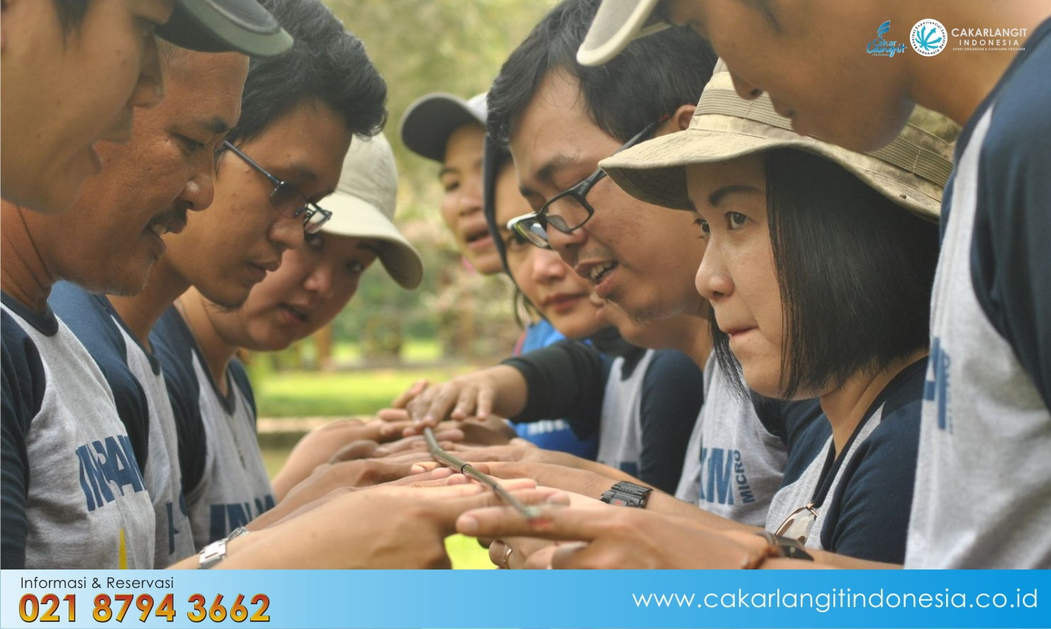 Paket Outbound Training Sindang Reret Resort Bandung